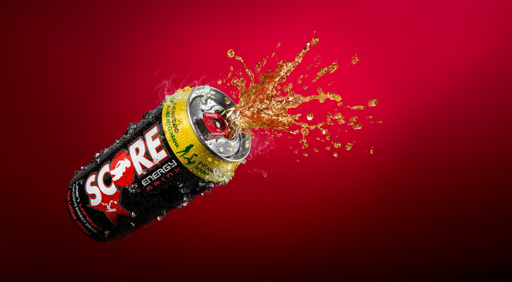 Charles Russell Photography » Score – Energy drink